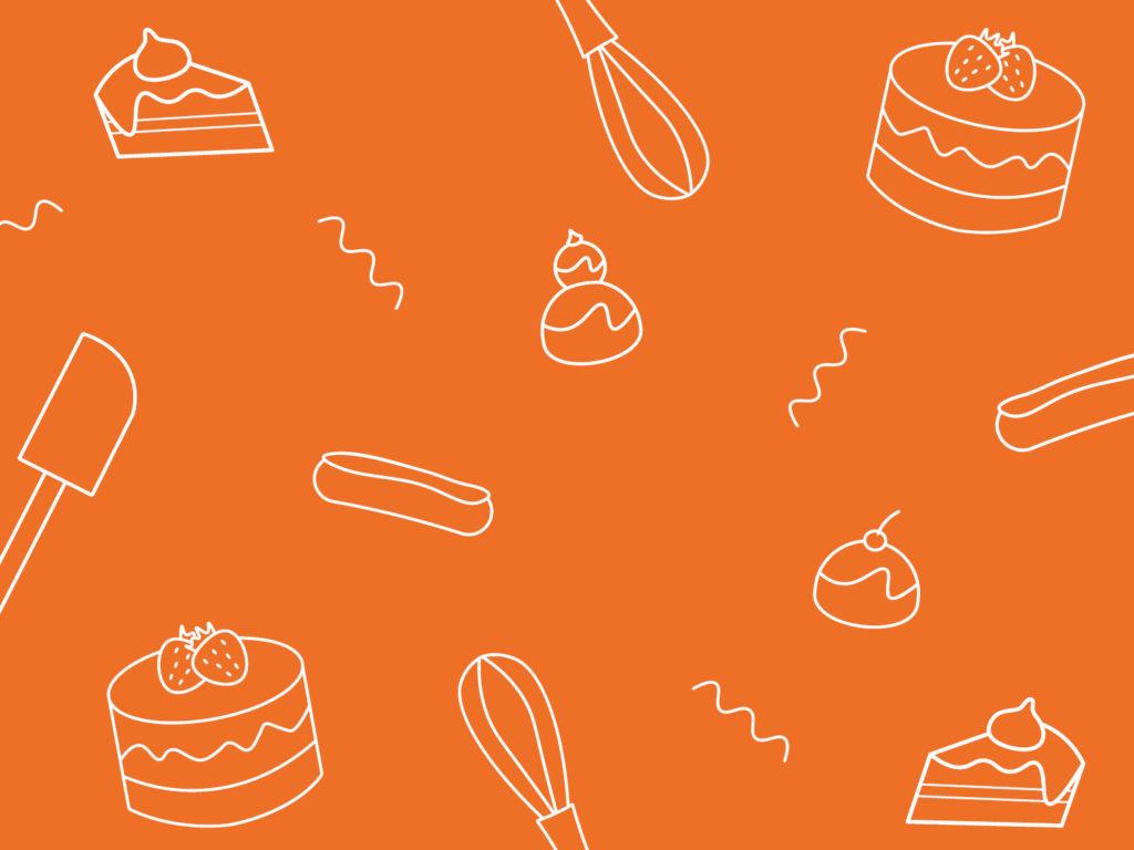 Illustration l'atelier artisan boulanger patissier