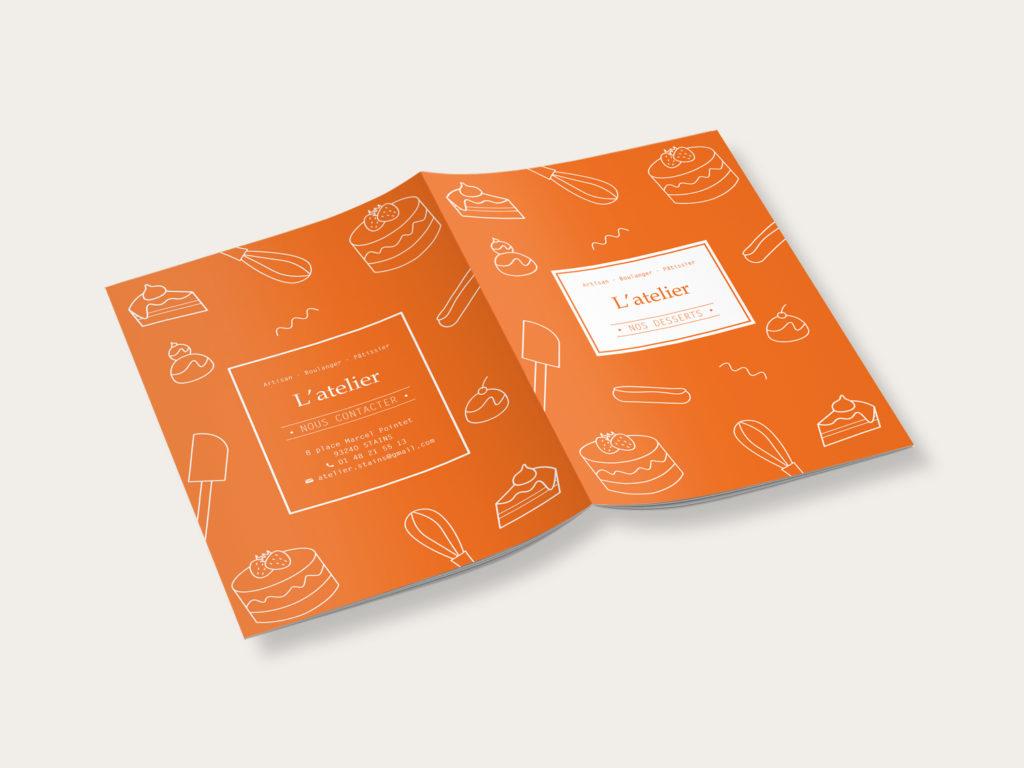 catalogue desserts l'atelier artisan boulanger patissier