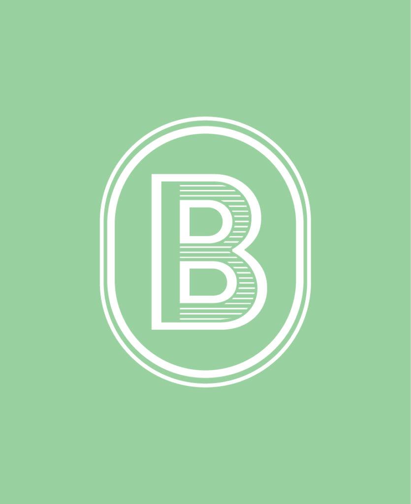 Déclinaison logotype Identité visuelle Barista vente de café moulu, en grain à plusieurs parfums