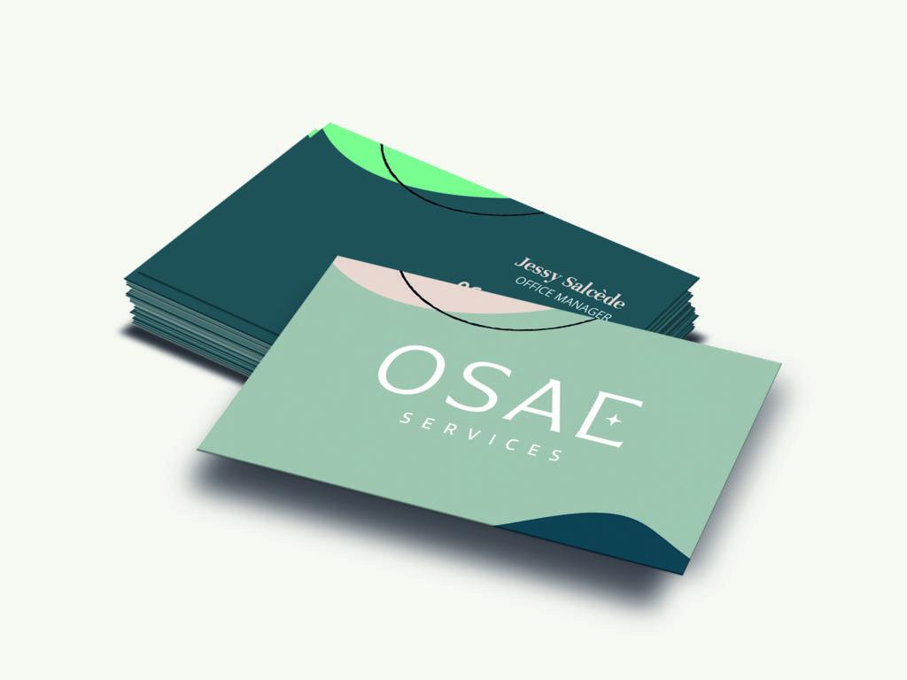 Projet carte de visite OSAE Services
