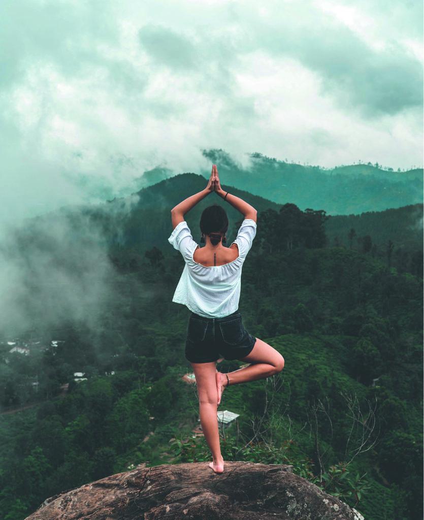 identité visuelle Namasté coach yoga