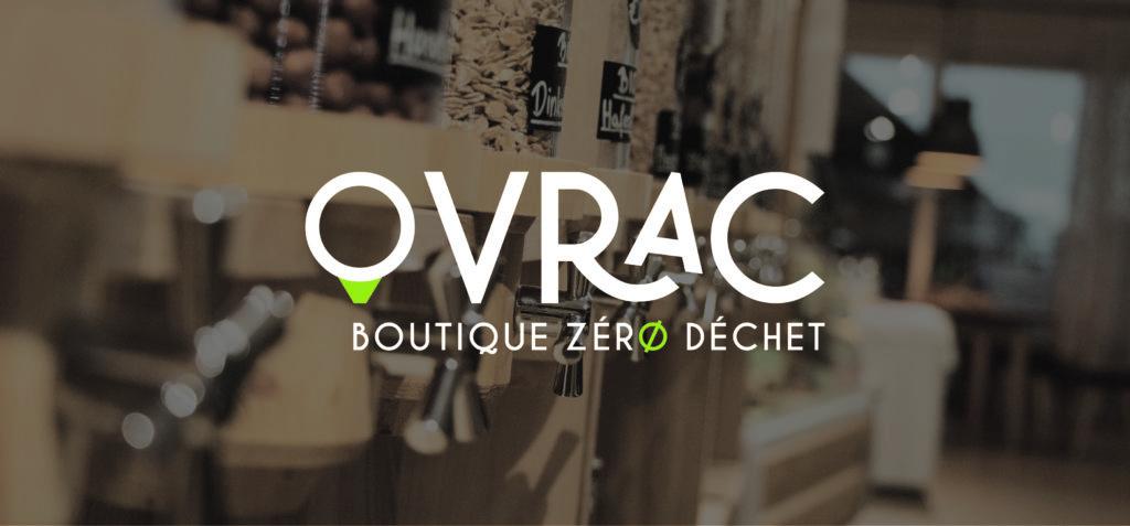 identité visuelle Ovrac boutique zéro déchet